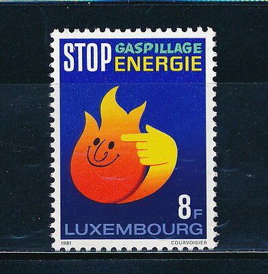 Luxembourg #666 MNH, Energy Conservation 1981
