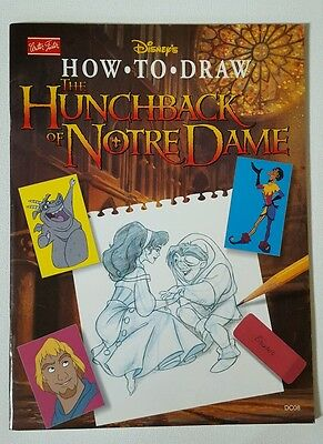 Disney How to Draw The Hunchback of Norte Dame by Walter Foster