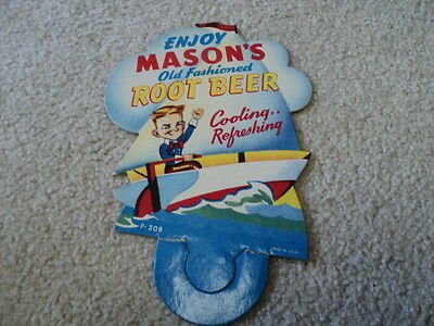 Vintage Advertising Sign Mason's Root Beer