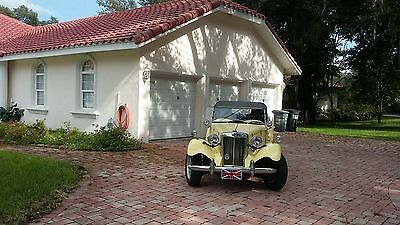 1952 MG T-Series  1952 MG T Series, excent shape, new tires and top.NO RESERVE!!!