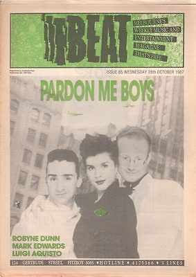 BEAT Magazine PARDON ME BOYS Oct 1997 #65 TISM JOHNNYS MARK EDWARDS