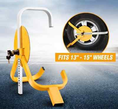 """Car Vehicle Wheel Clamp / Wheel Lock with Protective Disc/ For 13-15"""" Wheels"""