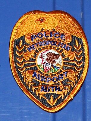 ILLINOIS METROPOLITAN AIRPORT AUTHORITY POLICE ILL IL PD patch