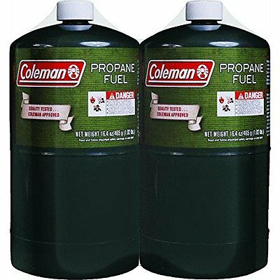 Coleman Camping Gas, Propane ‑ 1 pack, 16 oz