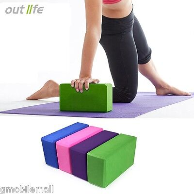 Outlife EVA Yoga Block Brick Foaming Foam Home Exercise Fitness Health Gym