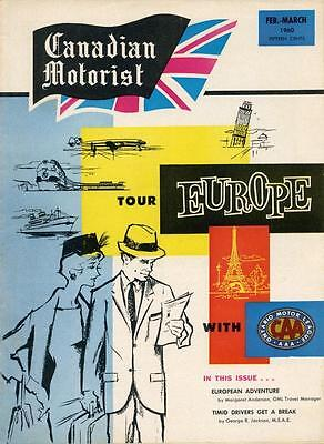 Caa Official Publication: Canadian Motorist - February-March  1960