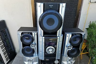 Sony MHC_GX450 Mini Hi-Fi Stereo 3 Disk Changer with Game Sync