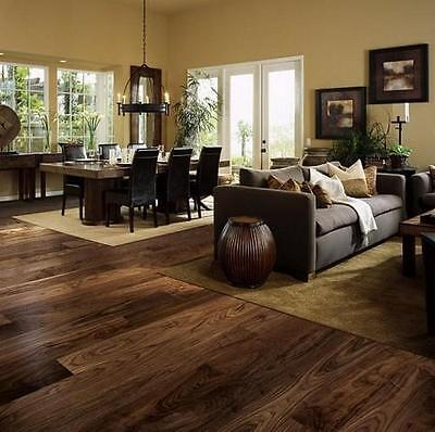 Trade Choice Solid American Black Walnut 162mm x 18mm Lacquered Wood Flooring
