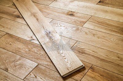 Kingsford Solid Farmhouse Oak 125mm x 18mm Brushed and Oiled Wood Flooring