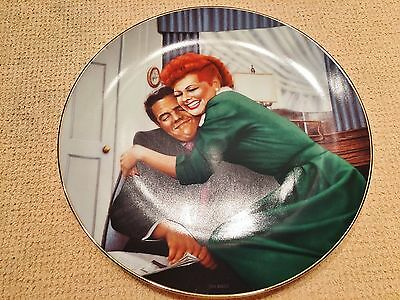 """Vintage """"I Love Lucy"""" """"The Big Squeeze!"""" Collectible Numbered Plate #4560B"""