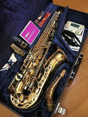 Brilliant YAMAHA Early YAS-62 Purple Logo with Selmer S80