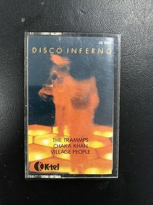 Original Cassette Tape Album - K-Tel Disco Inferno Compilation