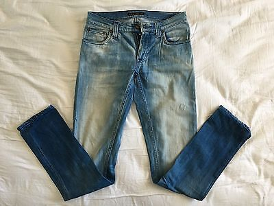 3 x NUDIE JEANS TIGHT LONG JOHNS AND SKINNY LIN SIZE 27/28