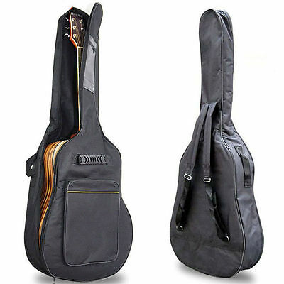 "40"" 41"" Acoustic Guitar Double Straps Padded Guitar Soft Case Gig Bag Backpack"