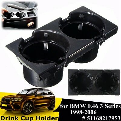 For Bmw E46 3 Series Front Center Console Cup/drinks Holder Mount - 51168217953