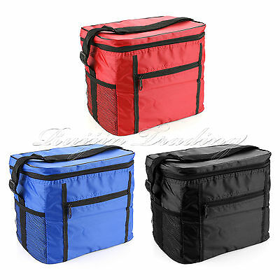 EXTRA LARGE INSULATED COOLER COOL BAG COLLAPSIBLE PICNIC CAMPING Portable