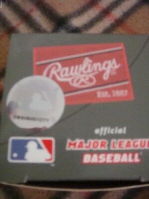 Rawling Official Major League Baseball Ball With A Box Brand New