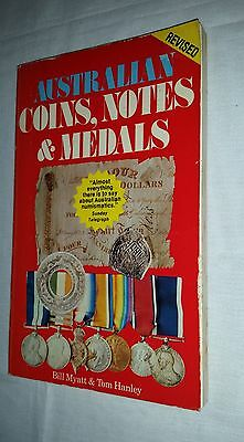 1982 Australian Coins, Notes & Medals Myatt/Hanley book 262 pages