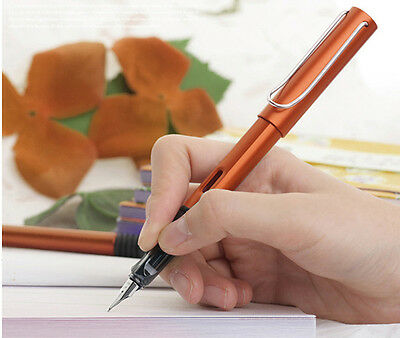2017 Lamy AL-Star orange fountain pen0.5 MM Business Good Quality Brand Gift box