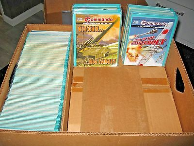 Huge collection of 3122 Commando Comics - every issue from no. 1000 to no. 4122