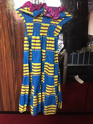 Traditional African Girls/ Children / Young Adults, Sleeveless Dress /outfit
