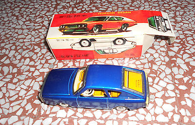 - Tin Toy Red China Mf 234 Modern Sedan Friction Vintage 70's Rare Friction Mib