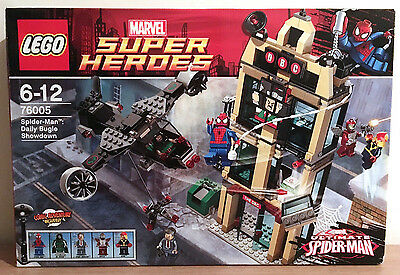 Lego Marvel Super Heroes 76005 Spider-Man Daily Bugle Showdown New / Sealed