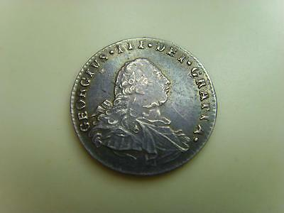 1800 MAUNDY SILVER TWOPENCE KING GEORGE III BRITISH COIN GREAT BRITAIN 2d