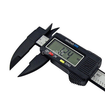 150MM 6inch LCD Digital Electronic Vernier Caliper Micrometer with On/Off AU