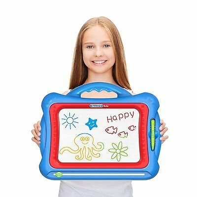 GP - NextX Magnetic Drawing Board For Kids - Erasable Colorful Magna Doodle Toys