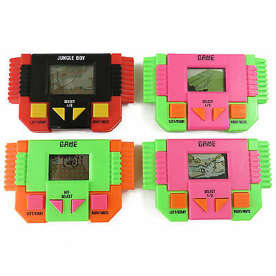 Vintage Hand Held Electronic Sports Games & Jungle Boy Set of 4 Games