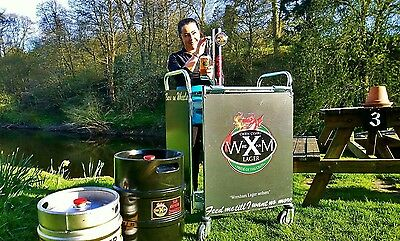 Mobile bar (can pour 1 or 2 differant beers)