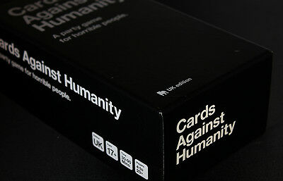 Cards Against Humanity UK EDITION Adult Card Game - BRAND NEW & SEALED, FREE P&P