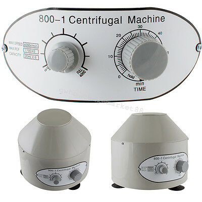 Electric Centrifuge Machine 4000rpm Lab Medical Practice 【Canada Fast】