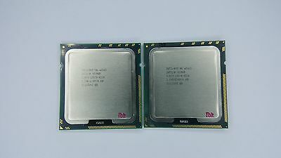 Matched pair of Intel Xeon W3565 3.2 GHz Quad-Core SLBEV Processor w/Grease