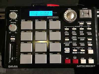 Akai MPC 500 w/ Original Charger And Heavy Duty Travel Case