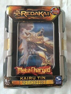 NEW & Sealed Redakai Conquer The Kairu MetaCharged Kairu Tin