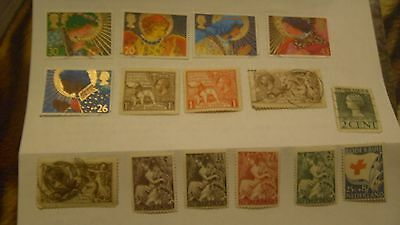 stamps 1918 used , two 1924 bbe mint stamps and the rest 20s to 1998 angels set,