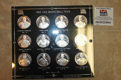 Silver Coin Set 1992 United States men's Olympic basketball team