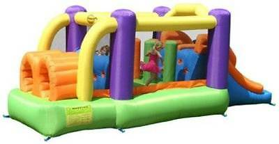 9063 Obstacle Jumping Castle Happy Hop