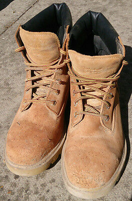 TIMBERLAND PRO work boots steel toe size 8