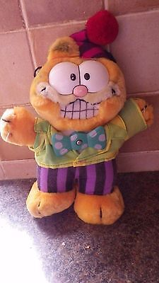 vintage garfield with spinning bow tie