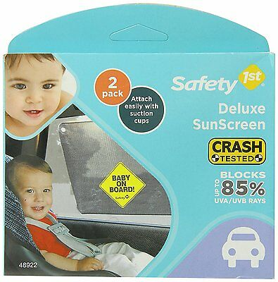 Baby On Board Car Window Sign Kids Safety Pack Of Sunscreen Protection Sun Shade