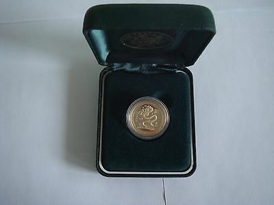 2000 Year of the Dragon 1/4 oz gold proof coin - VERY RARE!!!
