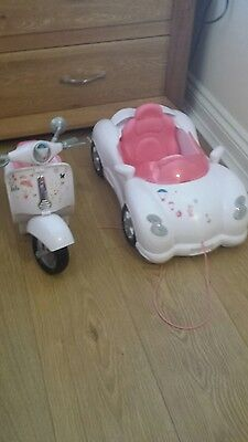 Baby Born Car & Scooter