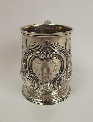 George II Silver Christening Mug London 1731