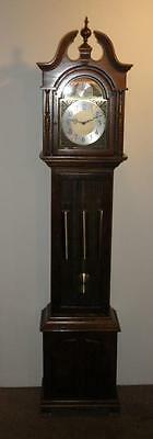 Herschede Tempus Fugit Grandfather Clock SERVICED & WORKS - ONE YEAR GUARANTEE!