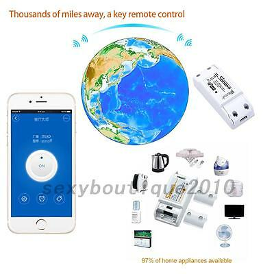 Hot Home WIFI Wireless Remote Control Switch Socket Timer for Android/IOS New