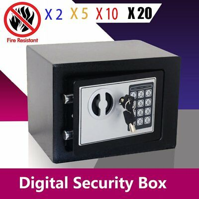 "Lot 20pcs 14"" Durable Digital Electronic Safe Box Keypad Lock Office Hotel Gun H"