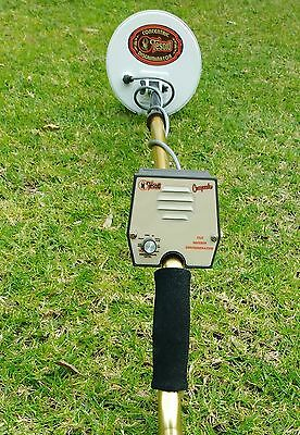 """Tesoro Compadre Metal Detector-7"""" Concentric Coil-As New-Top Condition"""